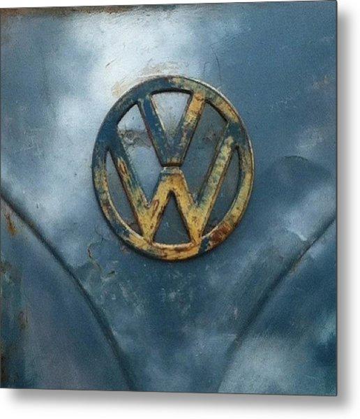 #vw #vdub #vwbus #vwlove #vwcamper Metal Print