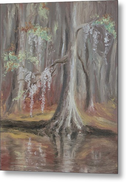 Waccamaw River Cypress Metal Print