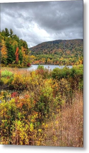 Wachusett Mt. In Autumn Metal Print