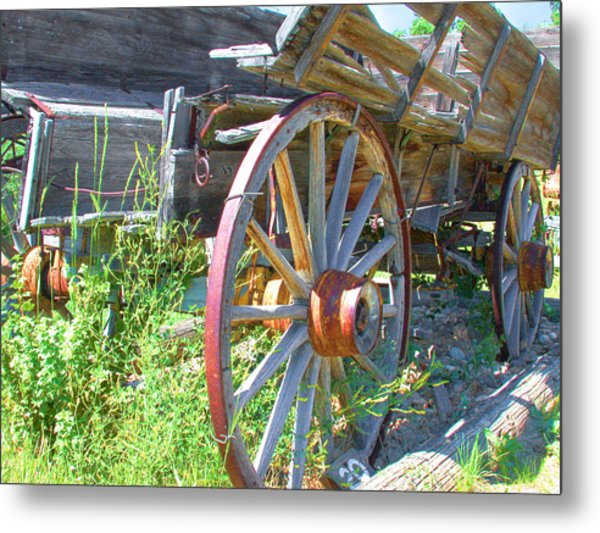 Metal Print featuring the photograph Wagon by David Armstrong