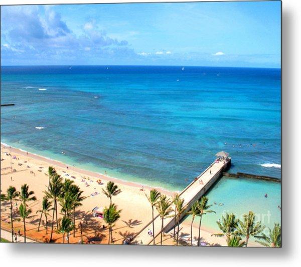 Waikiki Paradise Metal Print