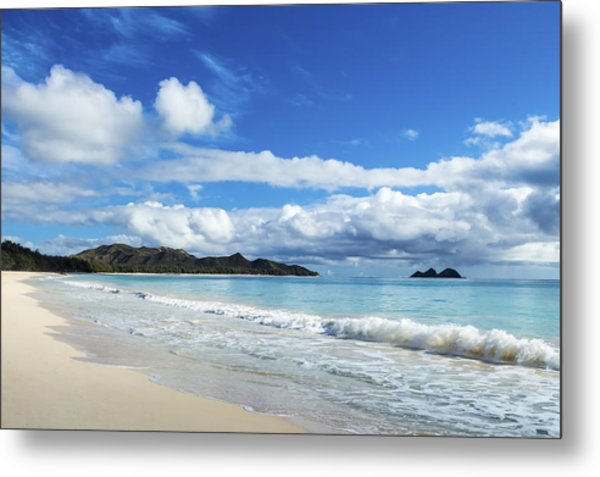 Waimanalo And Bellows Beach 1 Metal Print