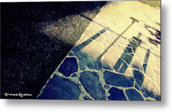 Wait In The Shade Metal Print
