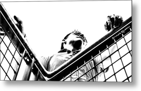 Metal Print featuring the photograph Waiting For The Future by Stwayne Keubrick
