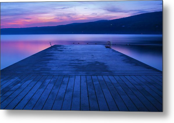 Waiting For The Dawn Metal Print