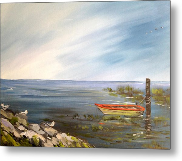 Waiting For The Fisherman Metal Print
