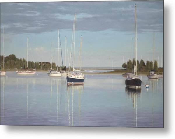 Waiting For The Wind Metal Print by Julia O'Malley-Keyes