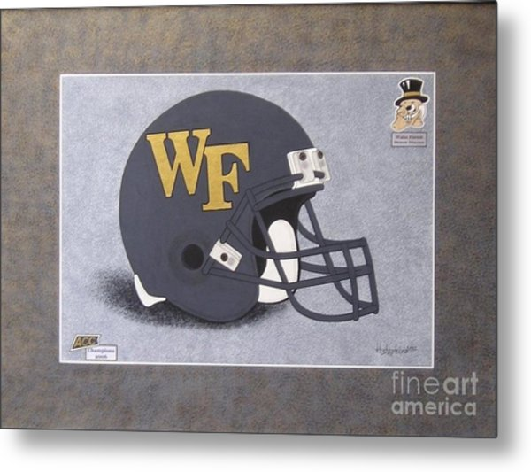 Wake Forest T-shirt Metal Print