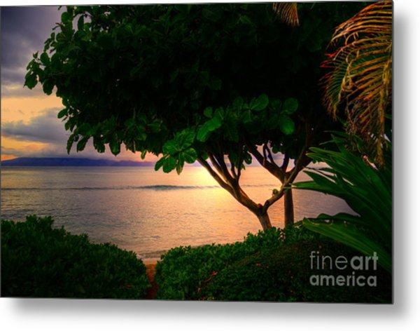 Waking Ka'anapali  Metal Print by Kelly Wade