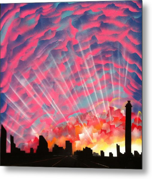 Waking Up Metal Print by Markus Fussell