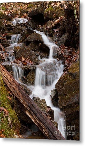 Walden Creek Cascade Metal Print