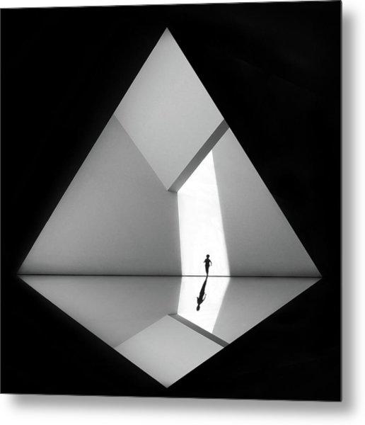 Walking The Diamond # 03 Metal Print