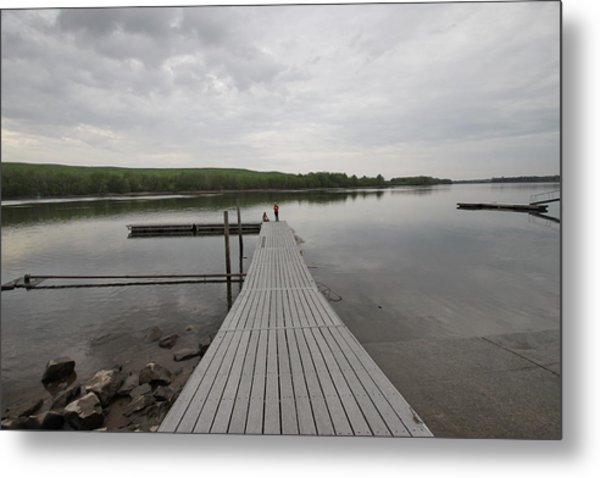 Walking The Plank Metal Print