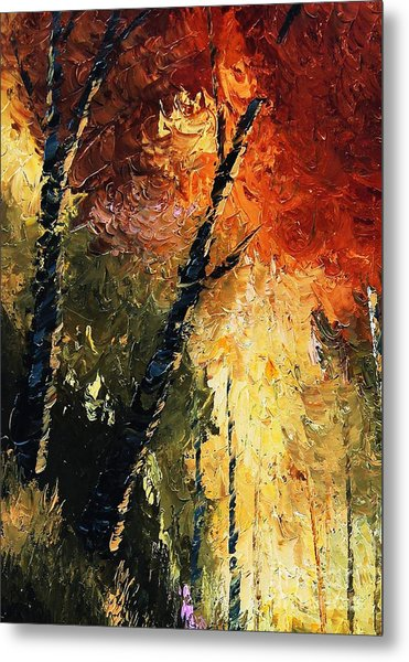 Walking With A Dream Metal Print
