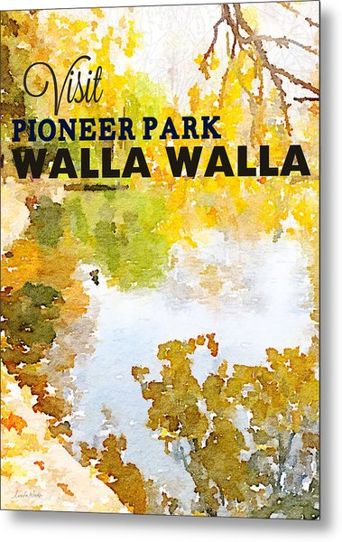 Walla Walla Metal Print