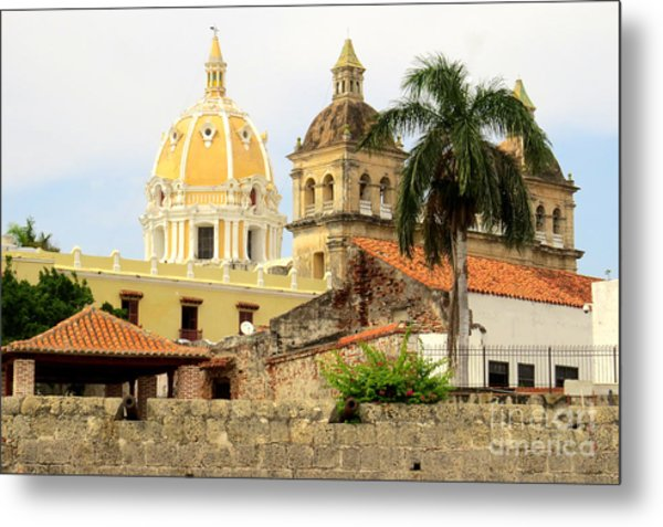 Walled Cathedrals Metal Print