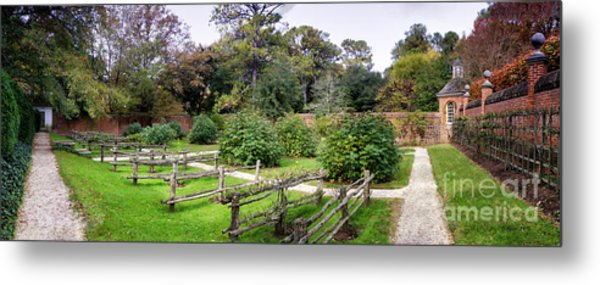 Walled Garden Metal Print