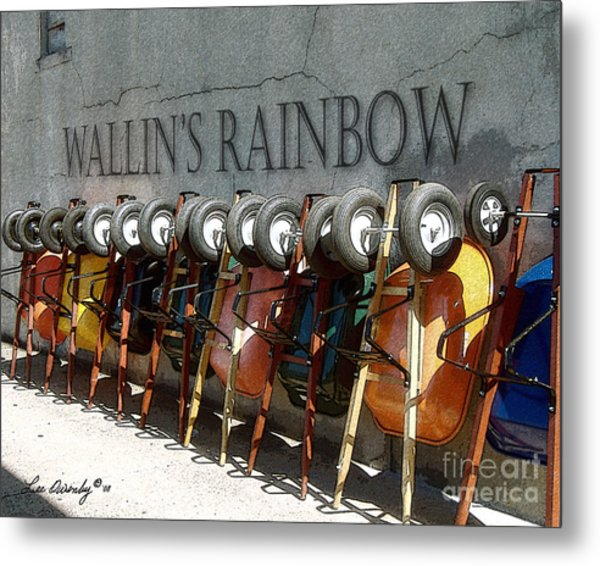 Wallin's Rainbow Metal Print