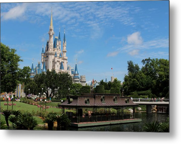 Walt Disney World Orlando Metal Print