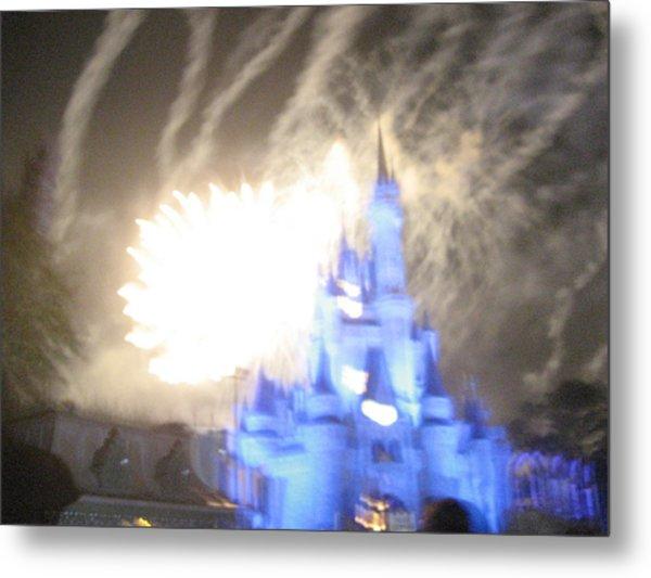 Walt Disney World Resort - Magic Kingdom - 121258 Metal Print