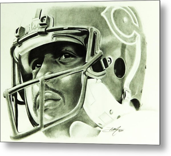 Walter Payton Metal Print by Don Medina