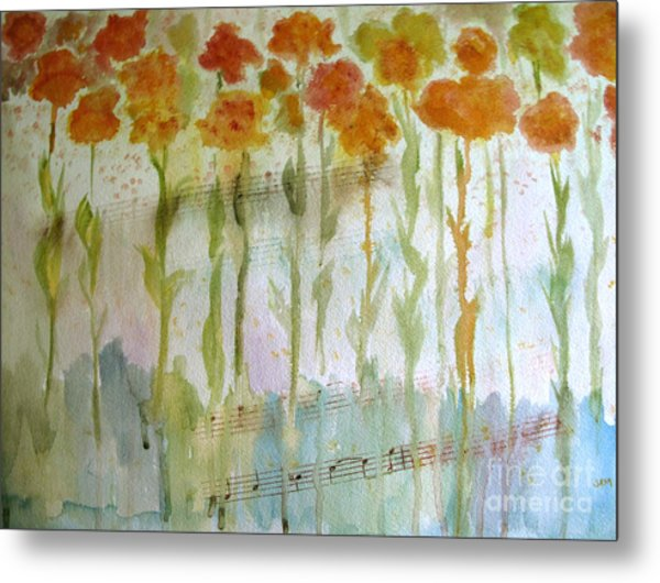 Waltz Of The Flowers Metal Print