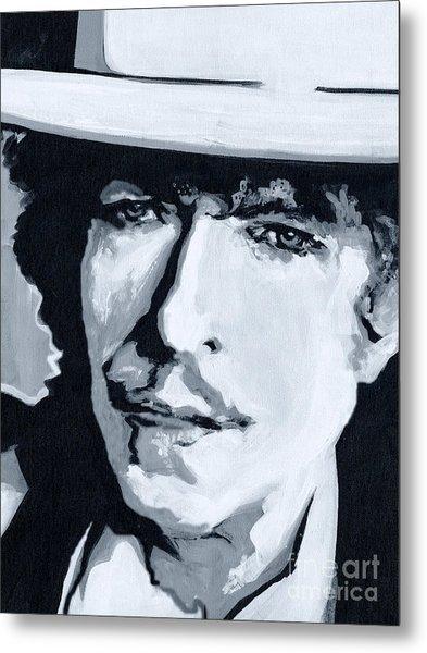 Wandering Troubadour - Bob Dylan Metal Print