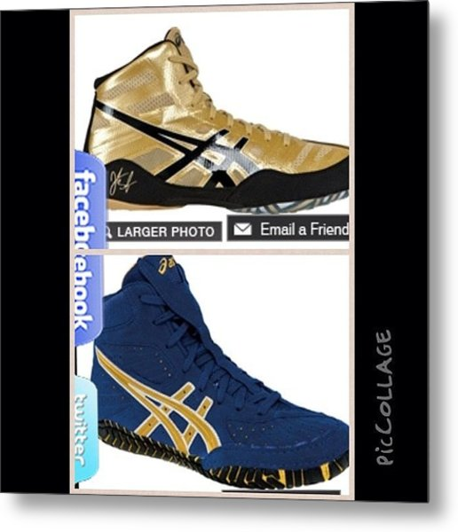 Want Both Pairs Dont Know Wich To Get Metal Print