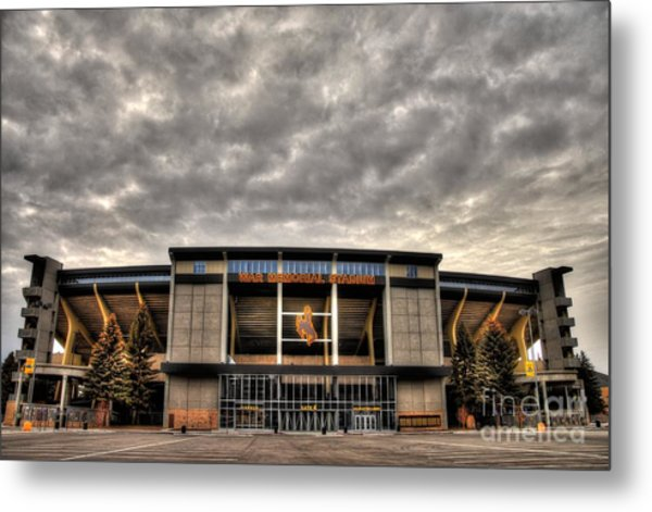 War Memorial Stadium Metal Print
