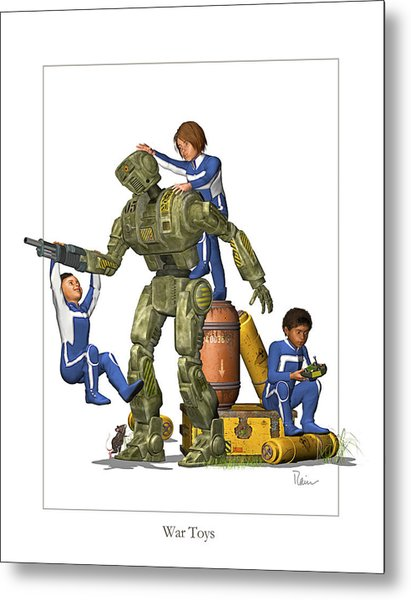 War Toys Metal Print