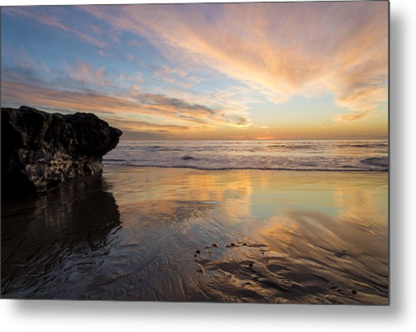 Warm Glow Of Memory Metal Print