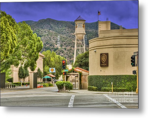 Warner Bros.  Burbank Ca  Metal Print
