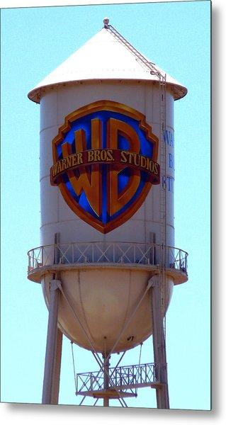 Warner Bros Studios Metal Print