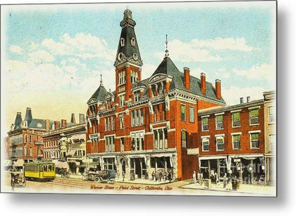 Warner House - Chillicothe Ohio Metal Print