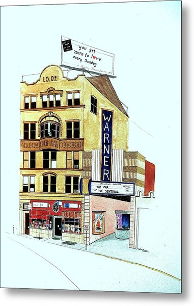 Warner Theater Metal Print