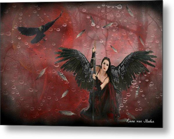 Warrior Angel  Metal Print
