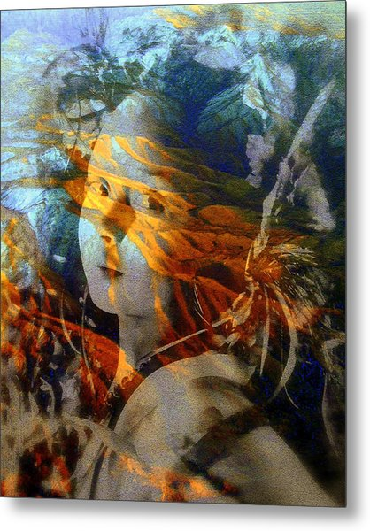 Warrior Spirit Metal Print