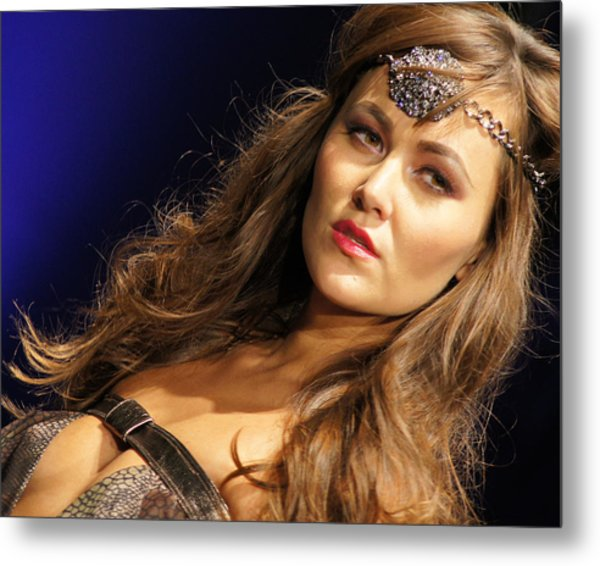 Warrior Woman 2 Metal Print by DerekTXFactor Creative