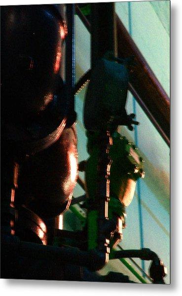 Warriors Watch Sears Mechanicals Metal Print