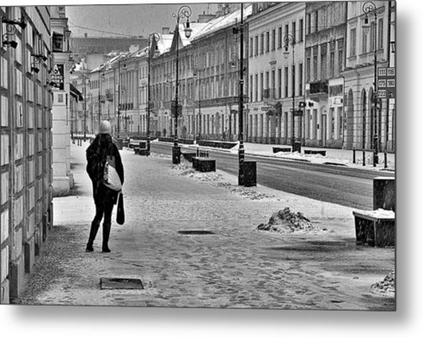 Warsaw 1 Metal Print by Steven Richman