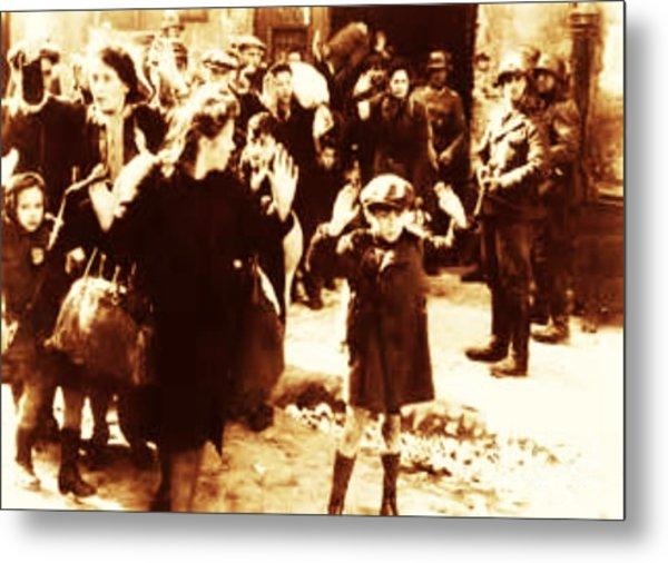 Warsaw Ghetto 1943 Metal Print