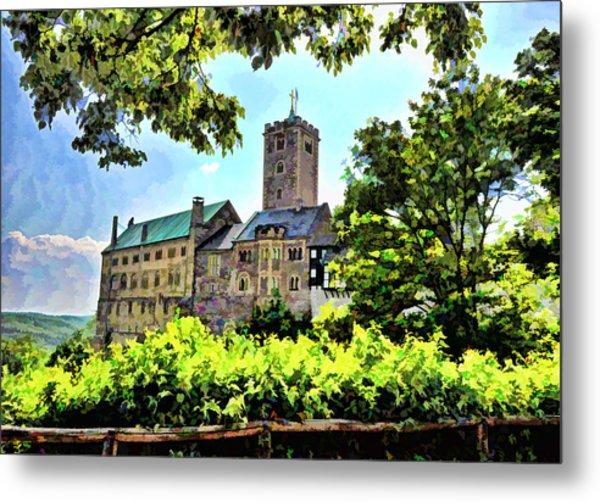 Wartburg Castle - Eisenach Germany - 1 Metal Print