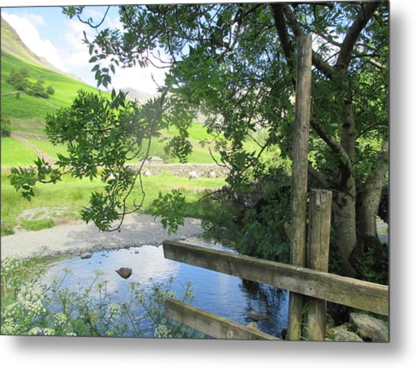 Wasdale Head Stile Metal Print