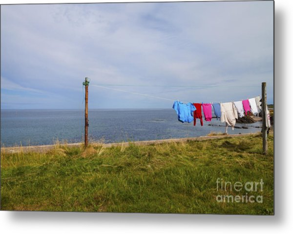 Washing Day Metal Print