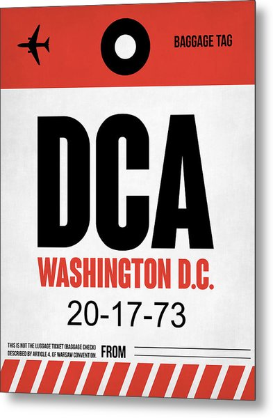 Washington D.c. Airport Poster 1 Metal Print
