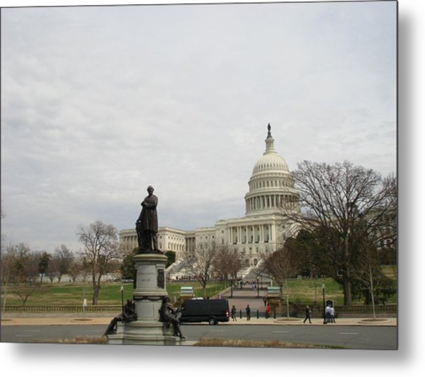 Washington Metal Print by Gerald Dobbin