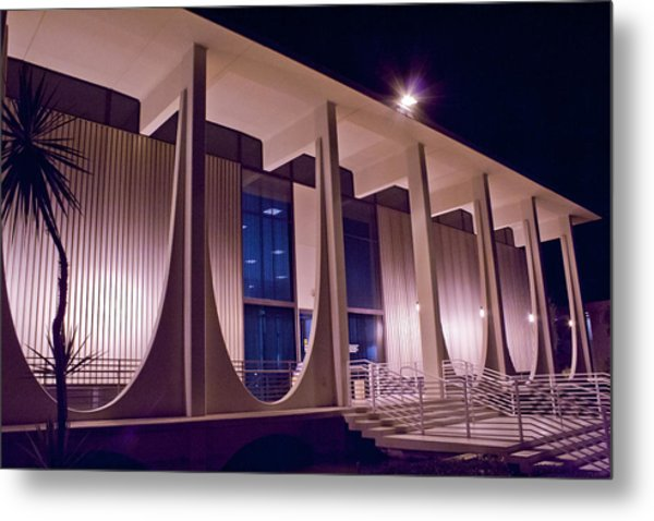 Washington Mutual Building Palm Springs Metal Print