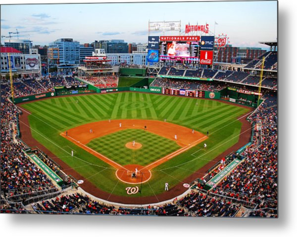 Washington Nationals Park Metal Print