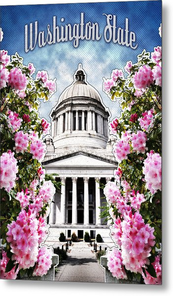 Washington State Capitol Metal Print