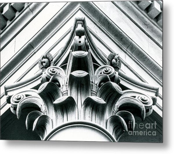 Washington State Legislative Building Column Metal Print